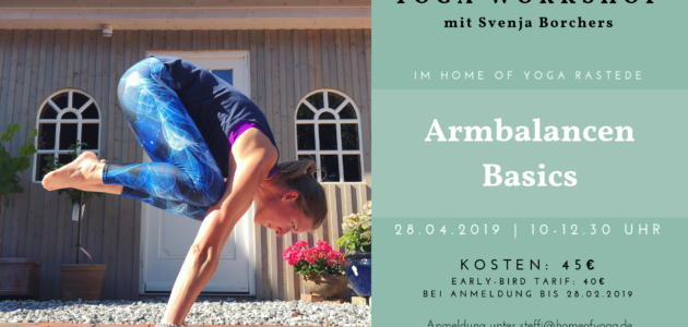 Armbalancen Workshop mit Svenja Borchers
