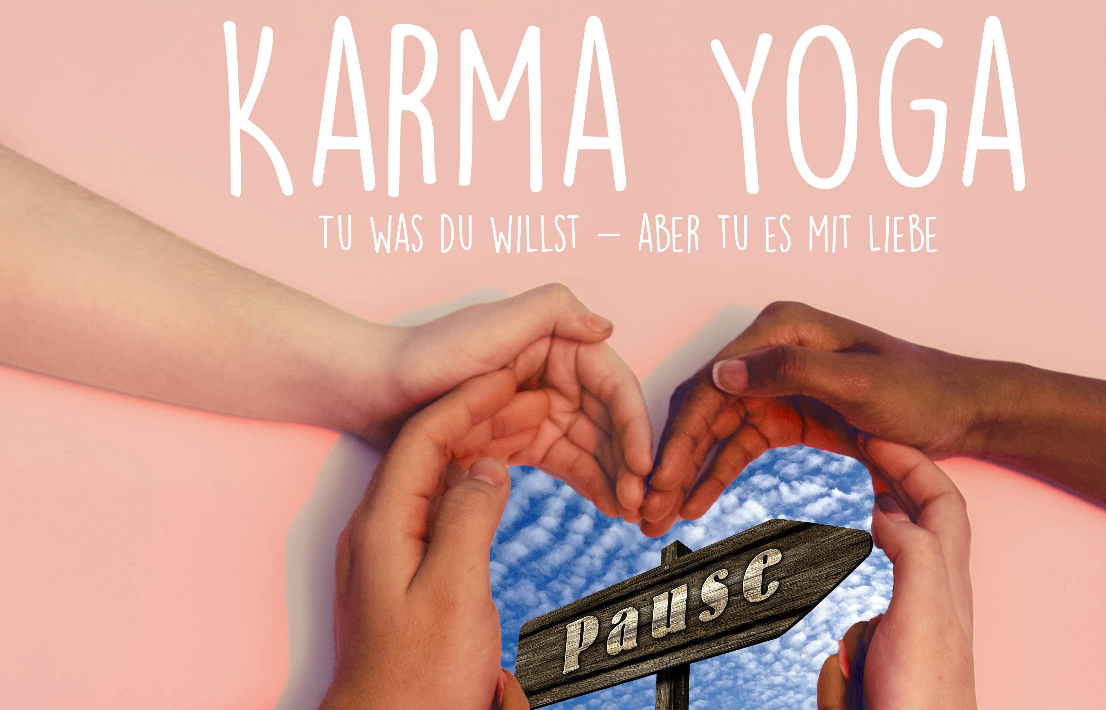 Karma Yoga geht in die Frühlingspause…